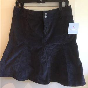 NWT Athleta Corduroy Skirt